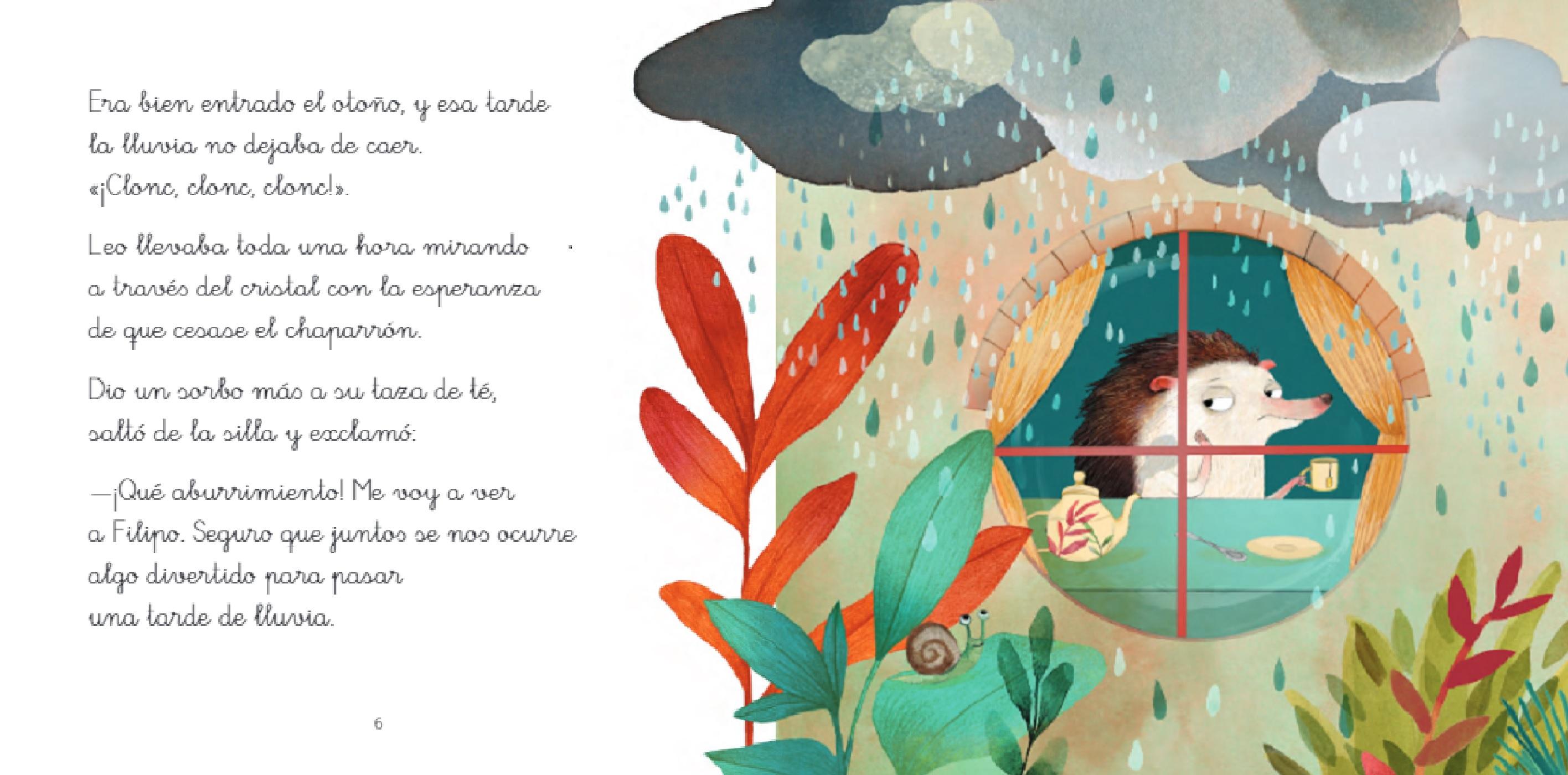 Una tarde de lluvia