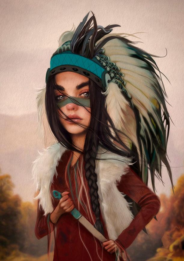 Tigridia. Ilustración de Antonio Lorente