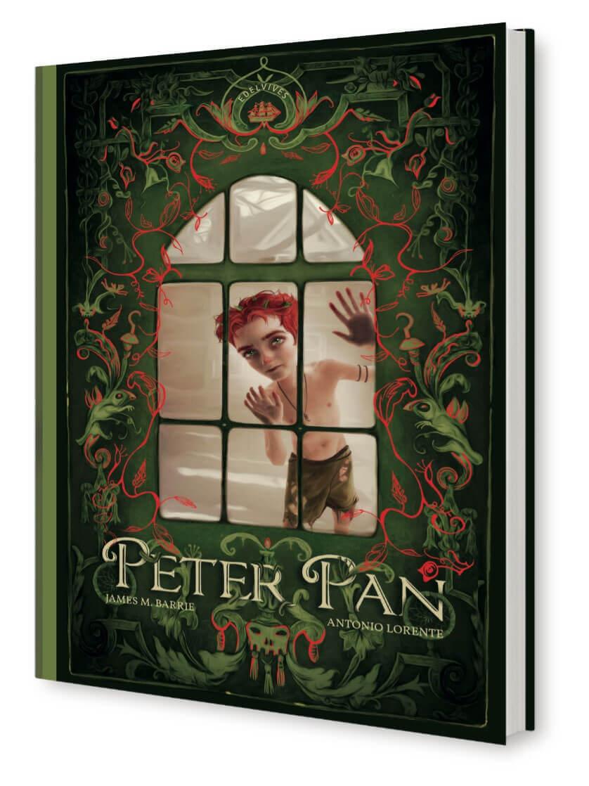 Peter Pan. Libro ilustrado por Antonio Lorente