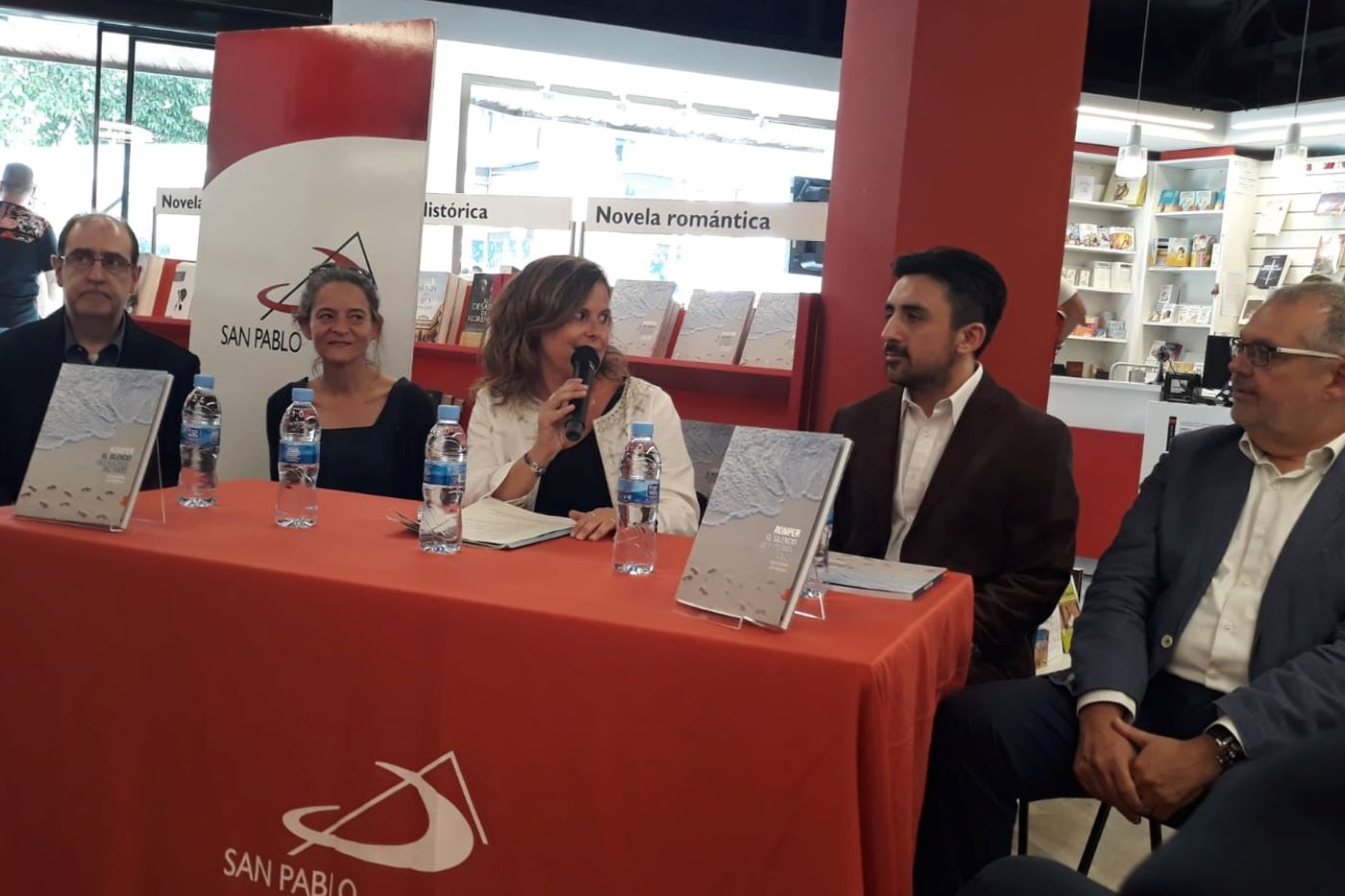 Presentación del libro en Madrid